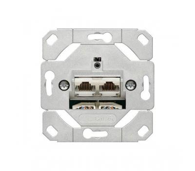 Розетка сет. 2 местн. Cat.6A IEEE 802.3an 245200 Gira