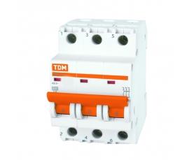 Автоматические выключатели ВА47-100 (характ. С) 63А 3П ТДМ