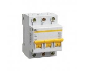Автоматический выключатель BA47-29 16A 3п. (характ. С) IEK
