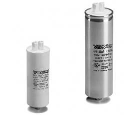 Конденсатор WTB 18 мкФ ±5% 250V d35 l95 M8x10 Пласт. корпус/Wago/-40C...+85C Vossloh Schwabe