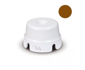 ТВ-розетка, D 9,5 мм белая 84022 FANTON