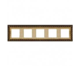 Рамка SEVILLA FD01234OB Bright Gold FEDE