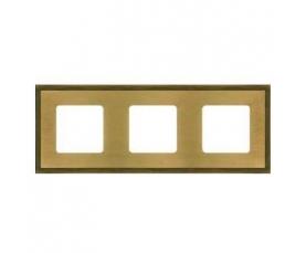 Рамка BARCELONA FD01253OB Bright Gold FEDE