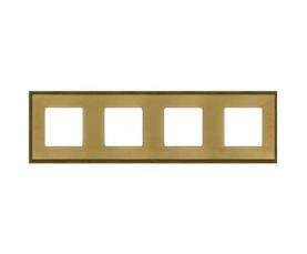 Рамка BARCELONA FD01254OB Bright Gold FEDE