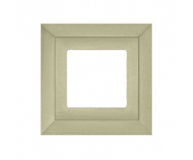Рамка FD01261CB SAND, CRYSTAL DE LUXE Bright Chrome FEDE
