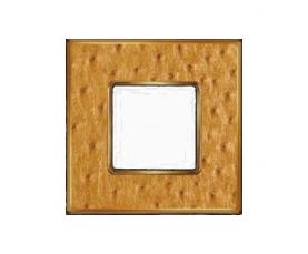 Рамка FD01323MCB VINTAGE TAPESTRY Monalisa-Bright Chrome FEDE