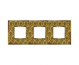 Рамка FD01332AMOB VINTAGE CORINTO Auroramarble-Bright Gold FEDE