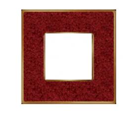 Рамка FD01341NEOB VINTAGE PORCELAIN Black Lys-Bright Gold FEDE