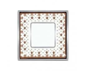 Рамка FD01343NEOB VINTAGE PORCELAIN Black Lys-Bright Gold FEDE