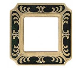 Рамка FD01352OPEN SMALTO ITALIANO/ SIENA Pearl White FEDE