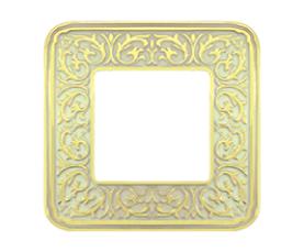 Рамка FD01375OB EMPORIO Bright Gold FEDE