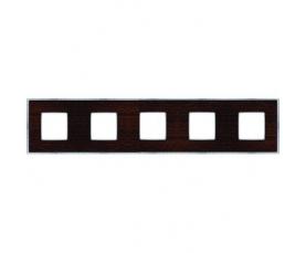 Рамка FD01471NECB NEW BELLE EPOQUE PORCELAIN Black Lys-Bright Chrome FEDE