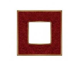 Рамка FD01472MACB NEW BELLE EPOQUE PORCELAIN Brown Lys-Bright Chrome FEDE
