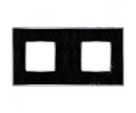 Рамка FD01472NECB NEW BELLE EPOQUE PORCELAIN Black Lys-Bright Chrome FEDE