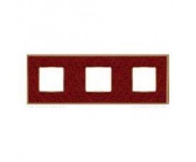 Рамка FD01473MACB NEW BELLE EPOQUE PORCELAIN Brown Lys-Bright Chrome FEDE