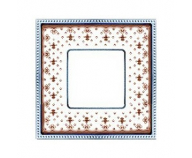 Рамка FD01473NEOB NEW BELLE EPOQUE PORCELAIN Black Lys-Bright Gold FEDE