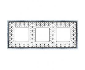 Рамка накладная FD01501BD WHITE DECAPE FEDE