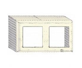 Рамка накладная FD01521BD WHITE DECAPE FEDE