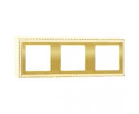 Рамка накладная FD01522OB BRIGHT GOLD FEDE