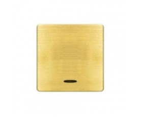 FD04314CB BRASS COVERS Bright Chrome+white FEDE