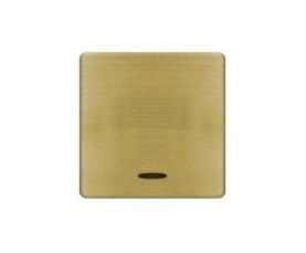 FD04314CB-A BRASS COVERS Bright Chrome+beige FEDE