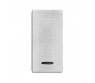 FD04314NS BRASS COVERS Nickel Satin+white FEDE