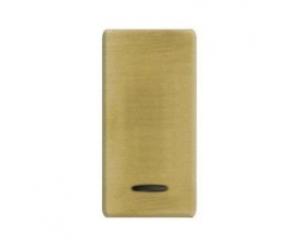 FD04314OB-A BRASS COVERS Bright Gold+beige FEDE