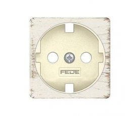 FD04314OR-A BRASS COVERS Real Gold+beige FEDE