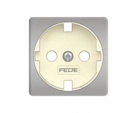 FD04314PB-A BRASS COVERS Bright Patina+beige FEDE