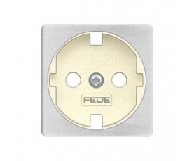 FD04314RU-A BRASS COVERS Rustic Cooper+beige FEDE