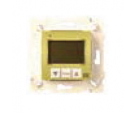 FD18003 THERMOSTATS WITH PLASTIC COVER BLACK FEDE