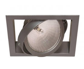 Светильник FIRST SINGLE 35TC CDM/942 WFLf silver LIVAL