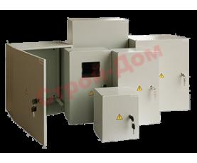 Бокс СП IP40 с прозрачной дверью 12 модуля Текфор