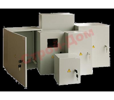 Бокс СП IP65 с прозрачной дверью 18 модуля Текфор