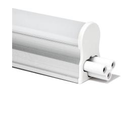 Светодиодный светильник 87SMD (3014) 4500K 9W 800LM в пластиковом корпусе с выключателем и сетевым шнуром, AL5038