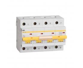 Автоматический выключатель BA47-100 63A 4п. (характ. С) IEK