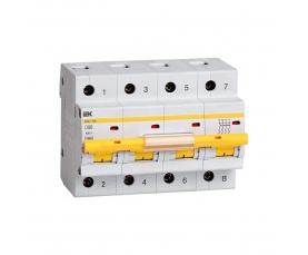 Автоматический выключатель BA47-100 80A 4п. (характ. С) IEK