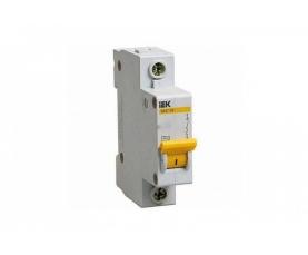 Автоматический выключатель BA47-29 16A 1п. (характ. С) IEK
