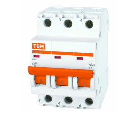Автоматические выключатели ВА47-29 (характ. С) 10А 3П ТДМ