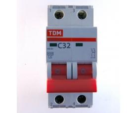 Автоматические выключатели ВА47-29 (характ. С) 32А 2П ТДМ