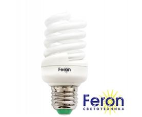 Лампа энергосберегающая ELT19 15W 230V E27 2700K спираль T2 FERON