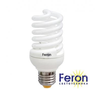 Лампа энергосберегающая ELT19 25W 230V E27 2700K спираль T2 FERON