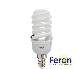 Лампа энергосберегающая ELT29 20W 230V Е14 2700K спираль FERON