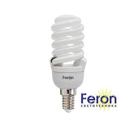 Лампа энергосберегающая ELT29 20W 230V Е14 6400K спираль FERON