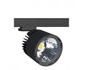 Светильник GALLERIA AC Cyl 2000Lm/830 WFL black LIVAL