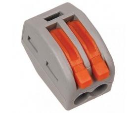 222-412 Универсальная многоразовая 2-проводная клемма 0,08-2,5 4 мм2 50шт. WAGO
