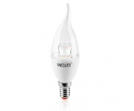 Лампа Светодиодная CDL 7Вт Е14 3000К WOLTA