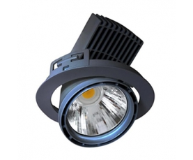 Светильник LEAN DL AC 27 LED 2000Lm/827 FL silver LIVAL