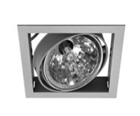 Светильник NORM SINGLE E 35 CDM-R111/830 WFLfg silver LIVAL