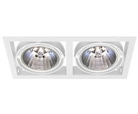 Светильник NORM DUO E 35T CDM/830 FLfg white  LIVAL